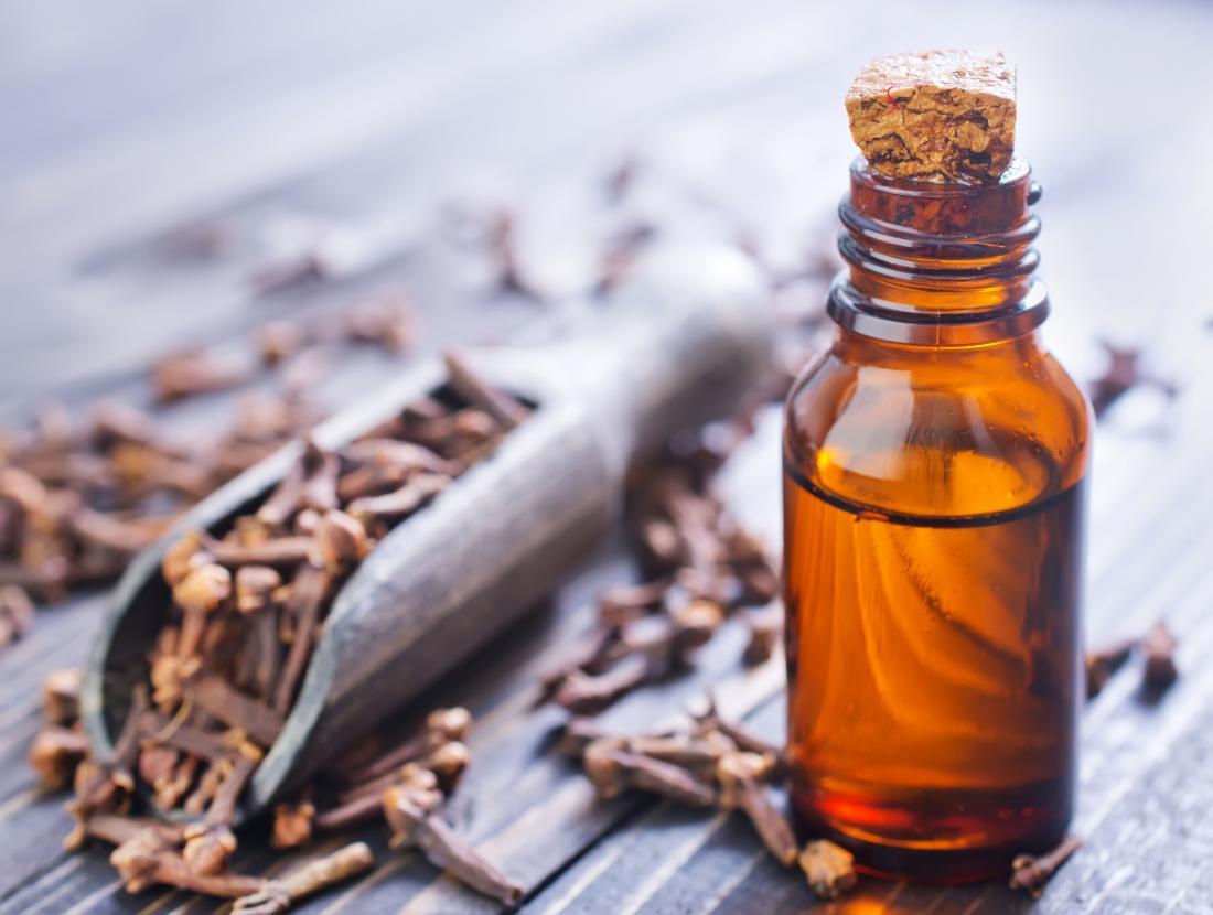Dầu đinh hương được sử dụng cho đau răng