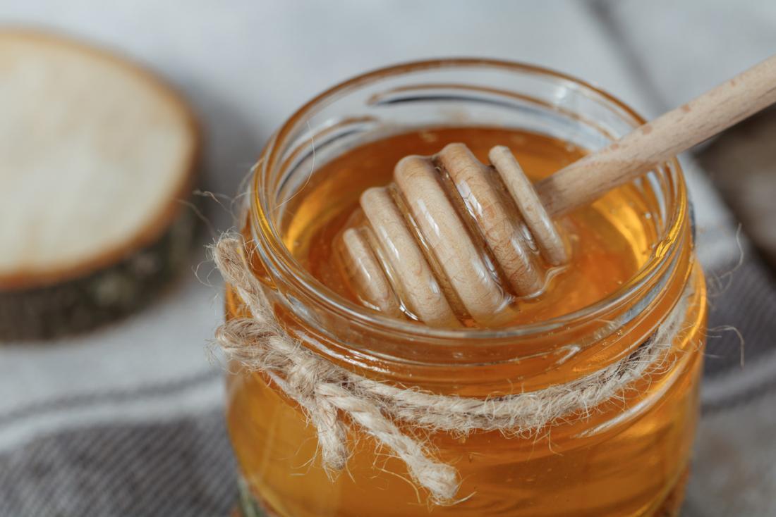 мед в саксия