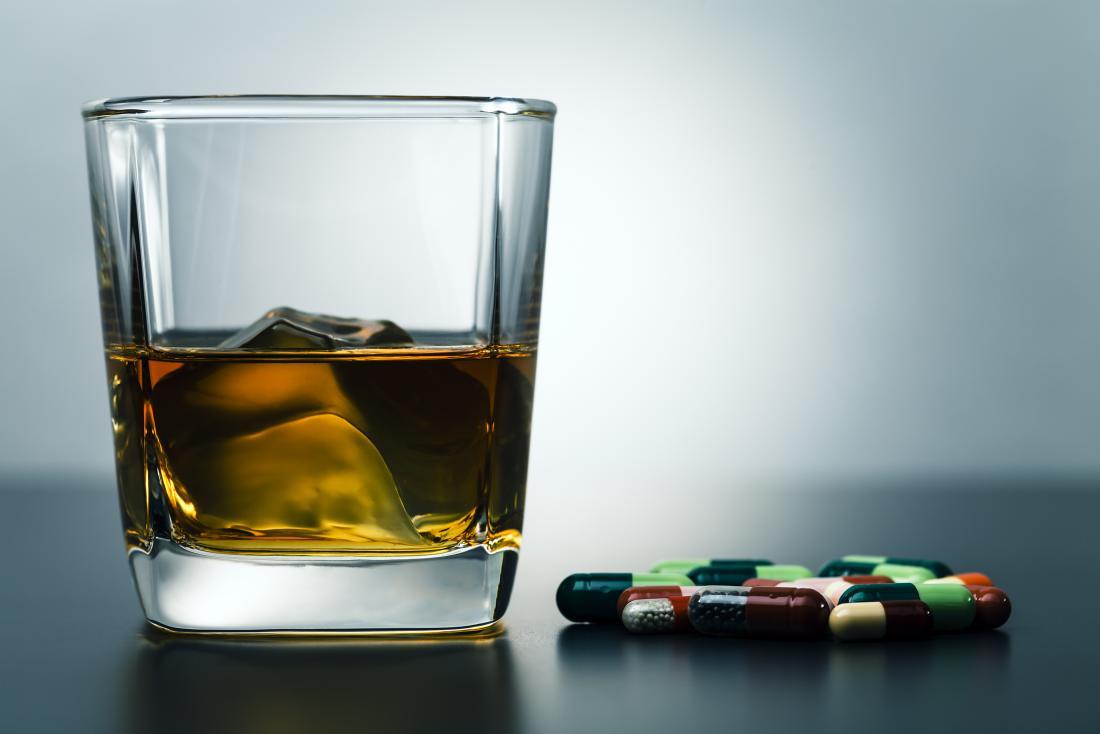 Adderall và rượu