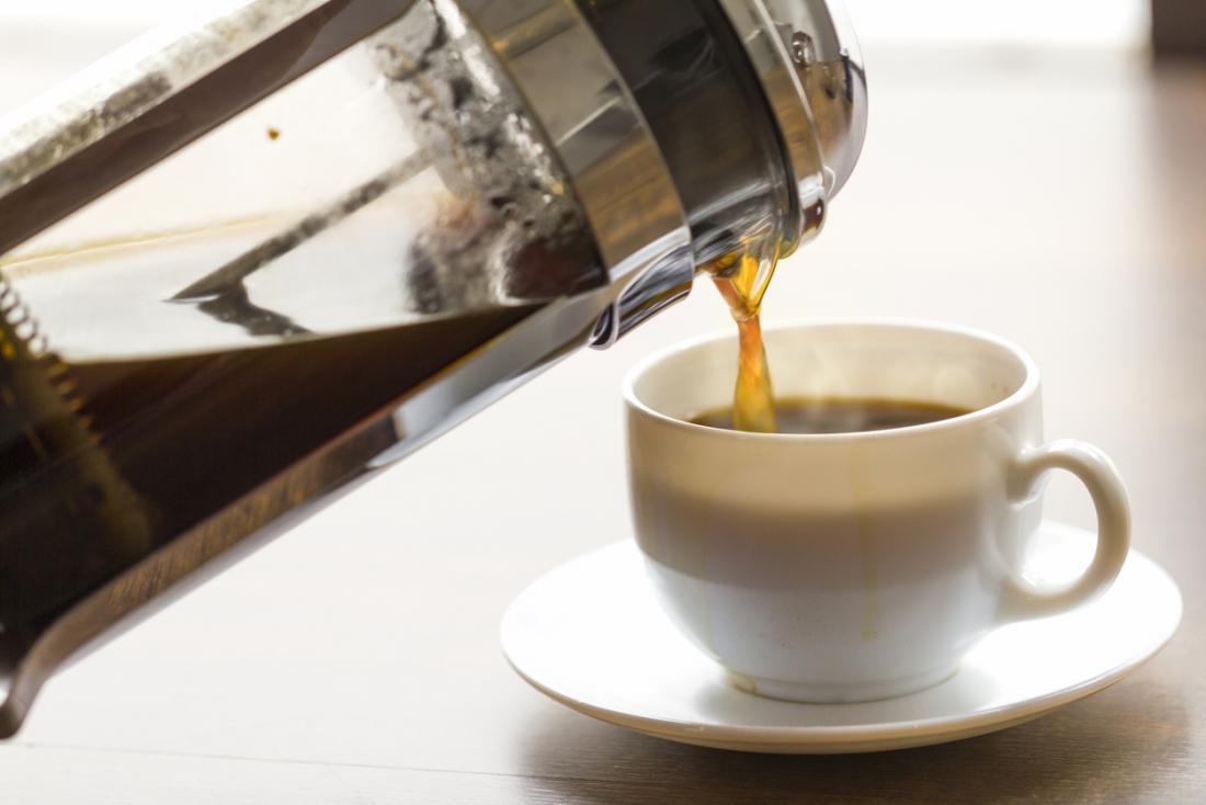 Taze demlenmiş kahve.