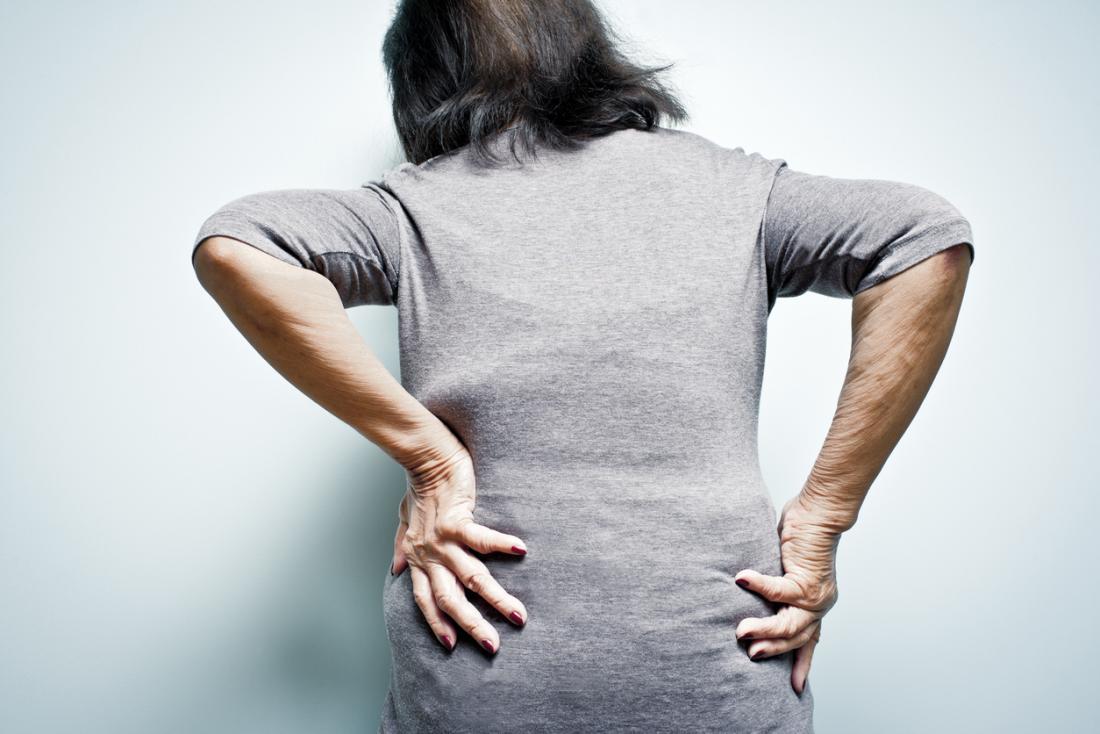 Douleurs arthritiques dans le bas du dos ou dans la région lombaire.