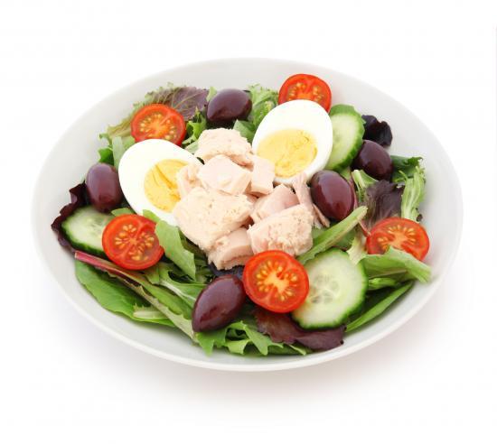 Nicoise Salat Thunfisch Ei