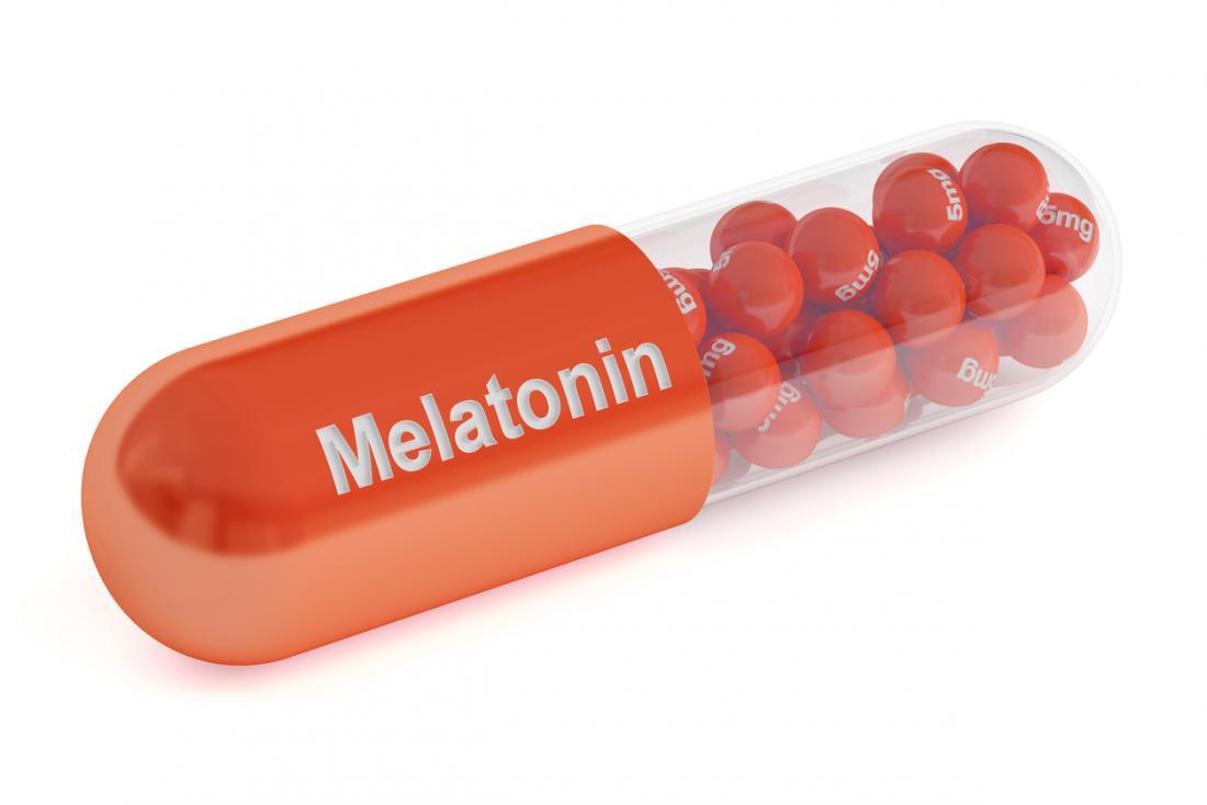 Melatonin-Tablette
