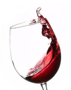 [bicchiere di vino rosso]