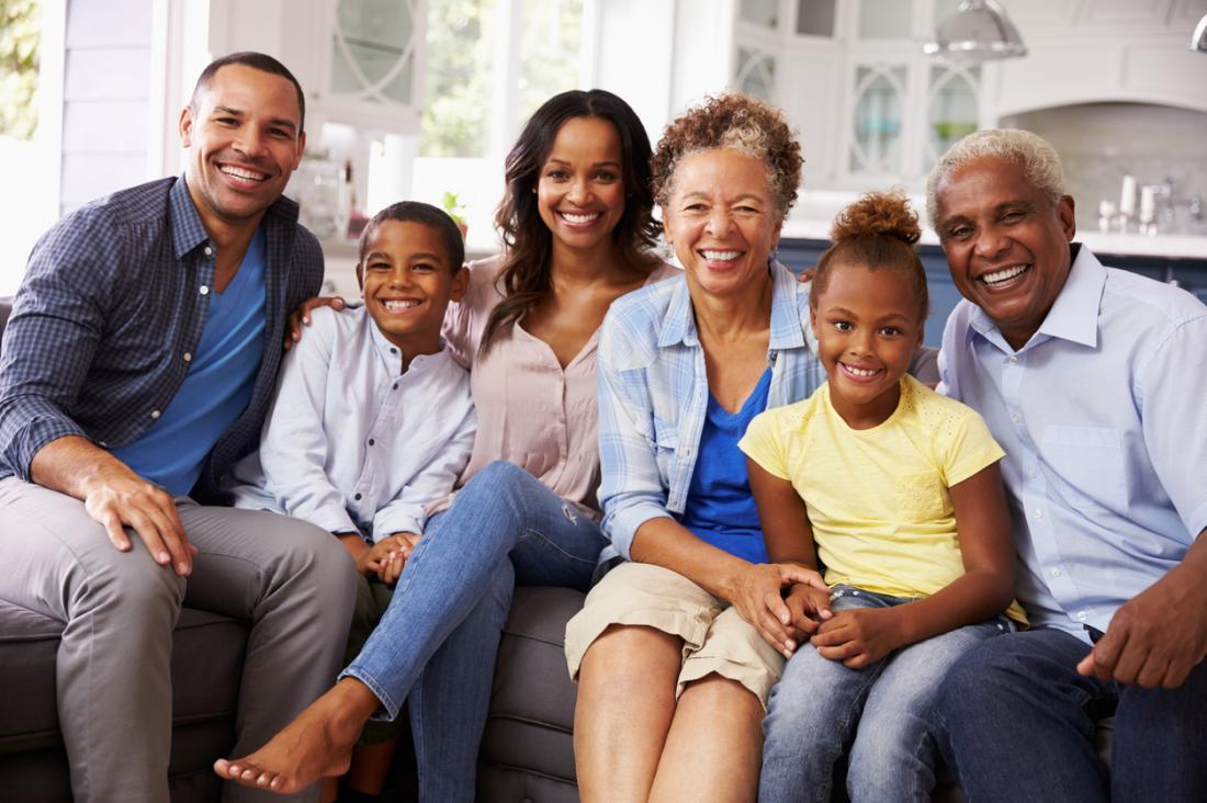 3 Generationen einer Familie