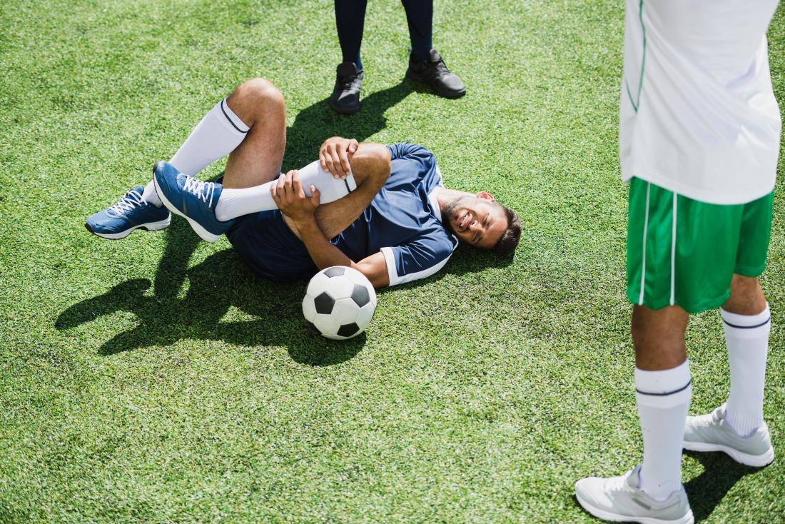 Eine Sportverletzung kann Myositis ossificans verursachen