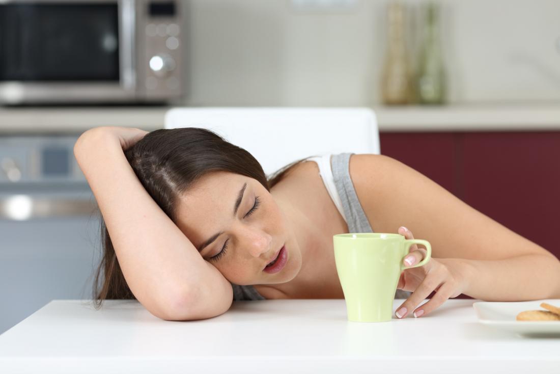 Une personne atteinte de narcolepsie