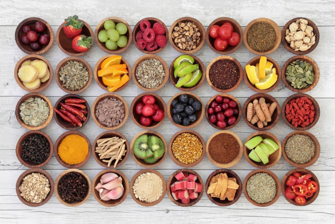 Tuyển chọn thức ăn bổ dưỡng trong bát