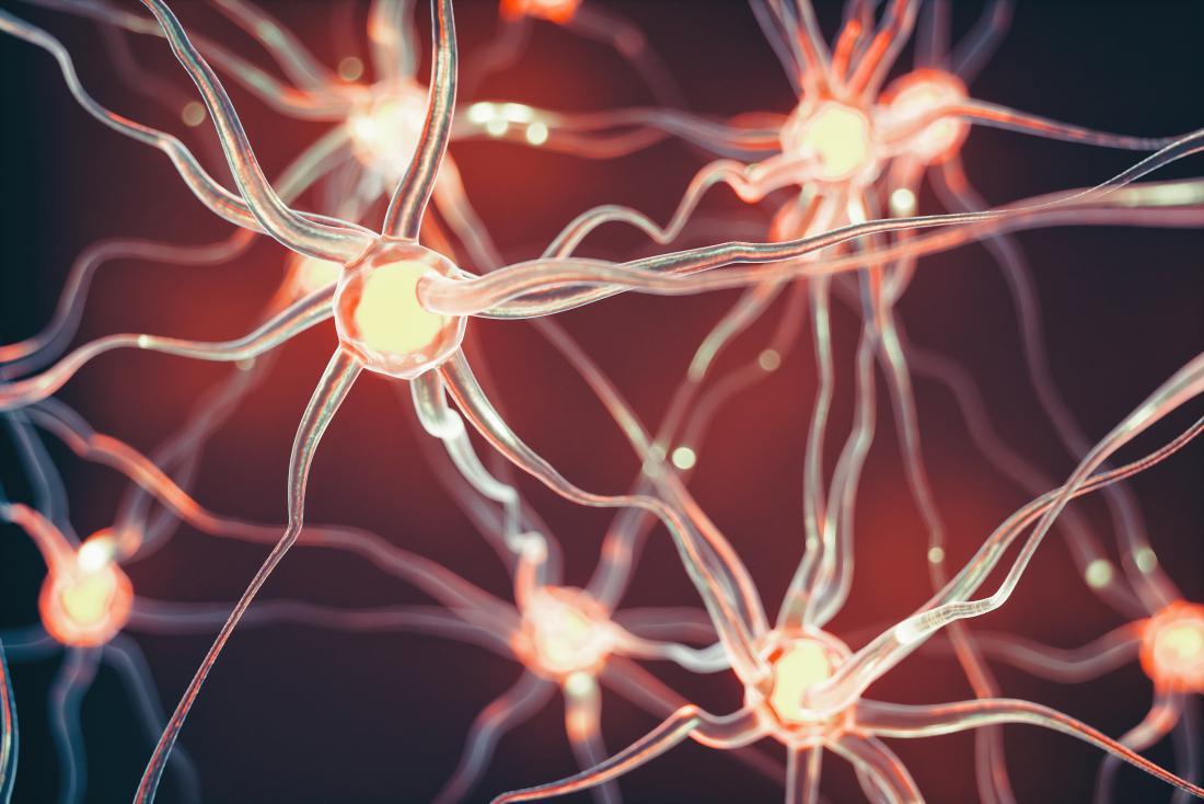 khái niệm minh họa của tế bào thần kinh