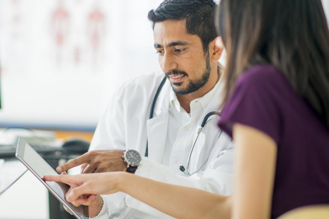 Consultazione con il medico