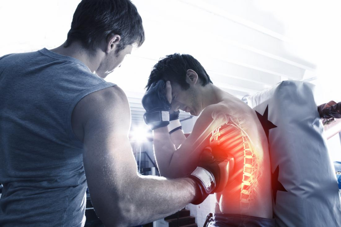 kaburga spor yaralanması