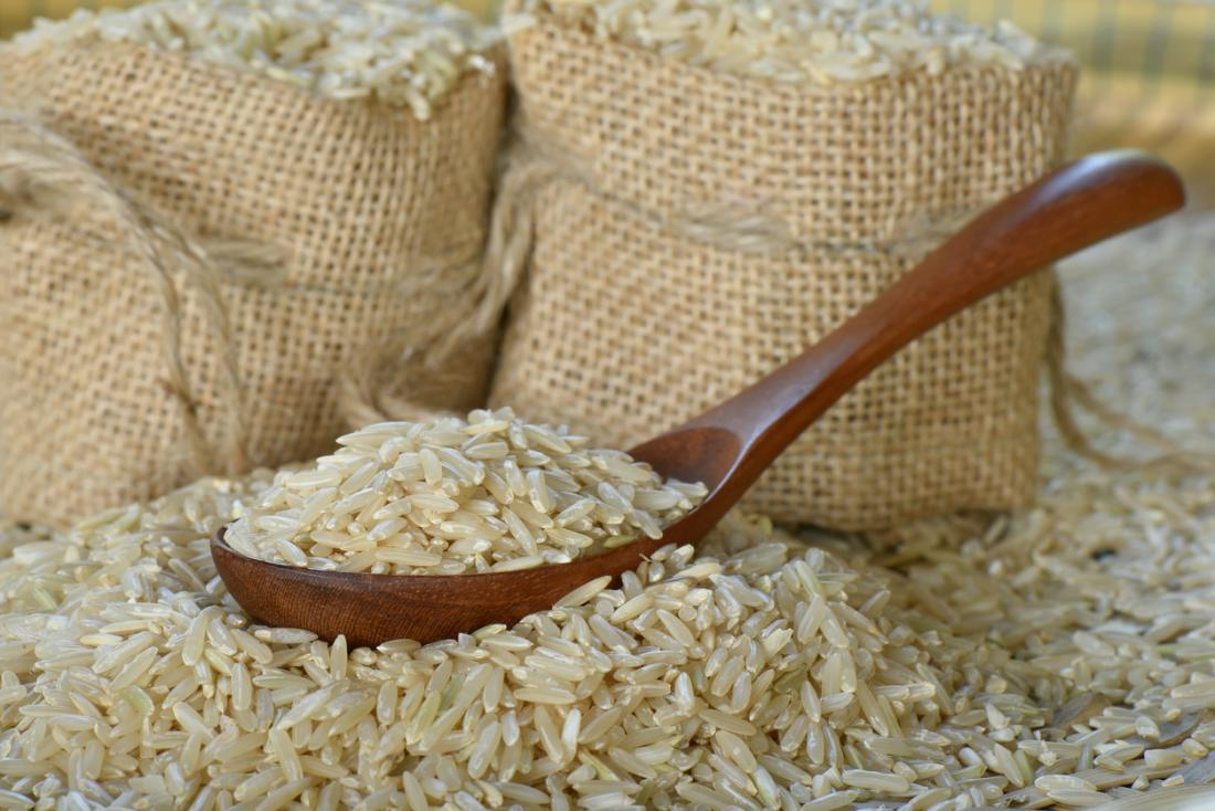 gạo lứt khô