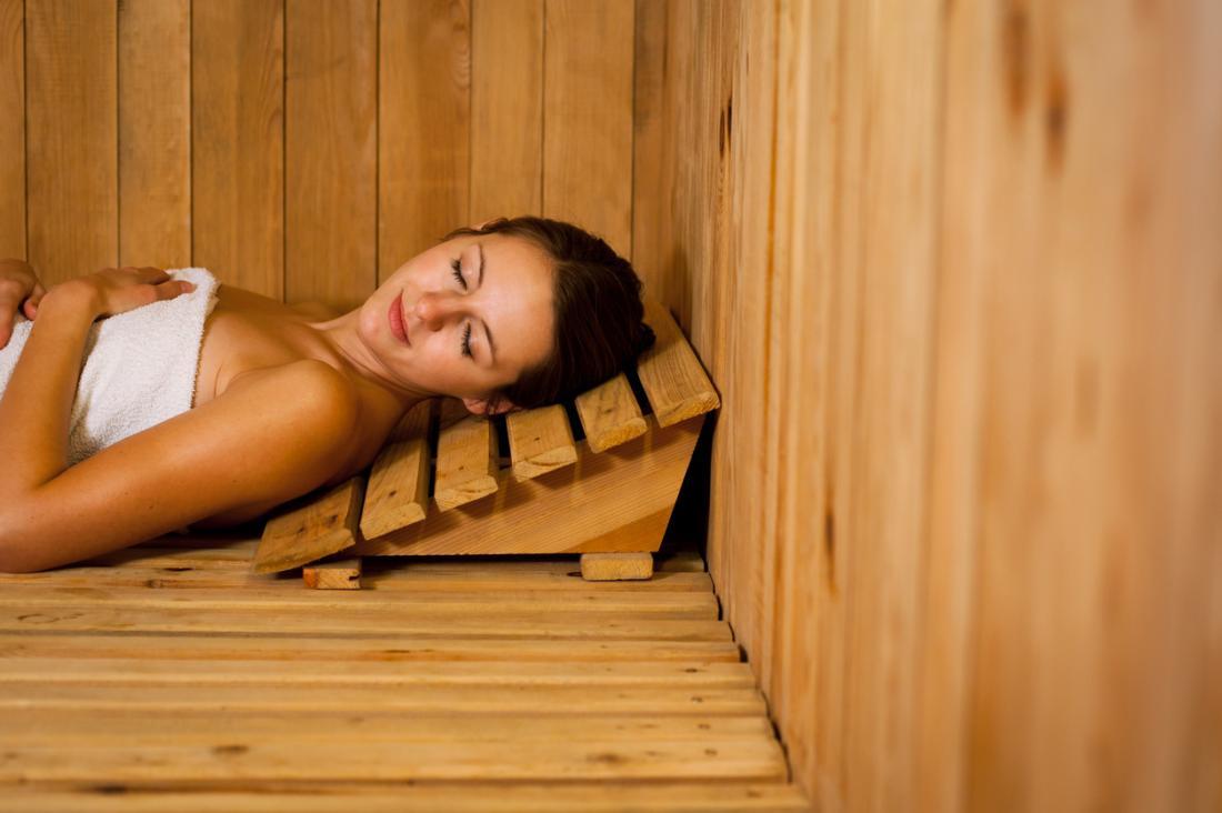 le sauna aide à se détendre