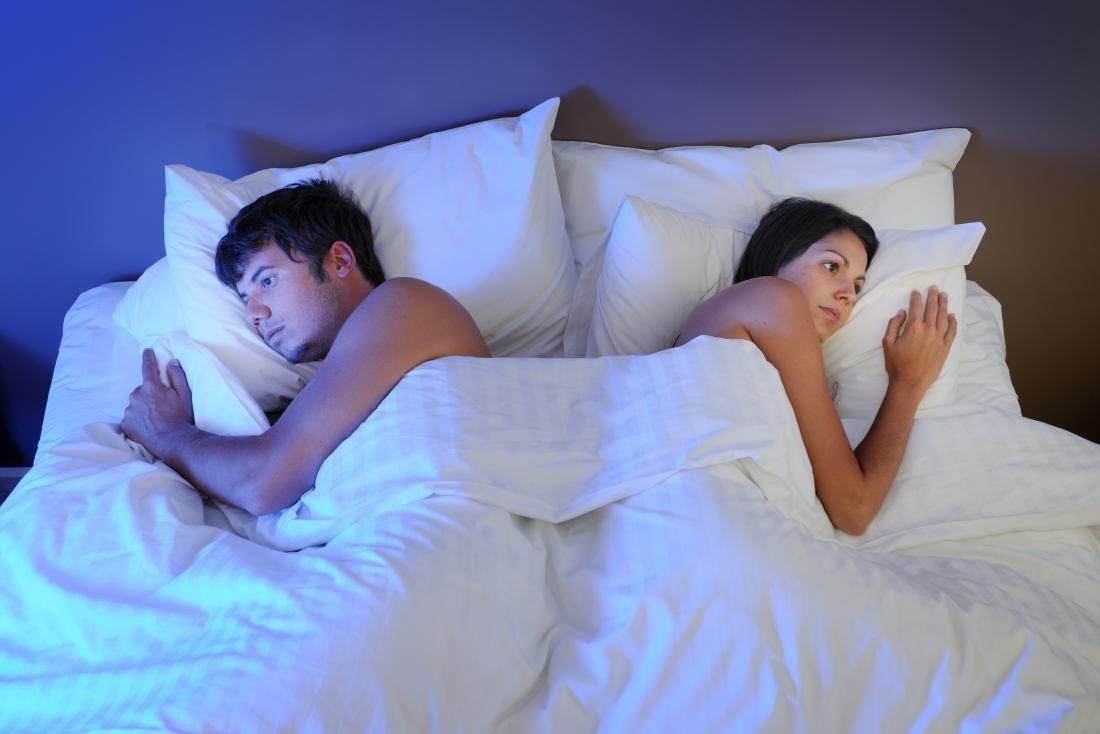 đối tác thân mật không phải đối mặt với nhau trên giường