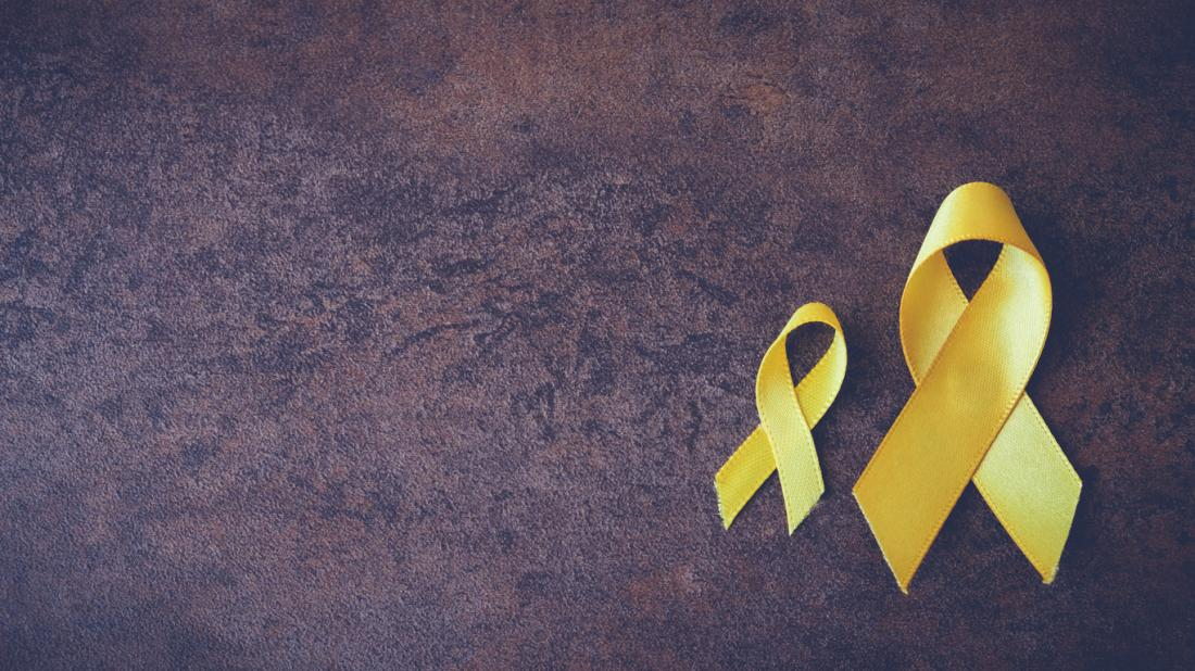 vàng ribbon sarcoma nhận thức