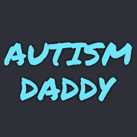 logotipo do papai do autismo
