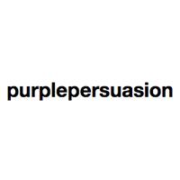 紫色のロゴ