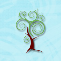 Wiederaufbau des Wellness-Logos