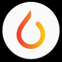 [Täglich brennen App Logo]