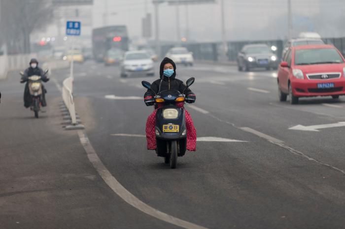 Schwere Luftverschmutzung in China