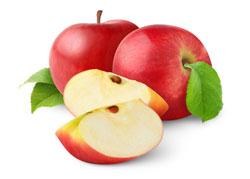 アップルとリンゴのスライス