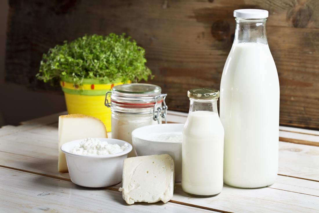 Produits à base de lait