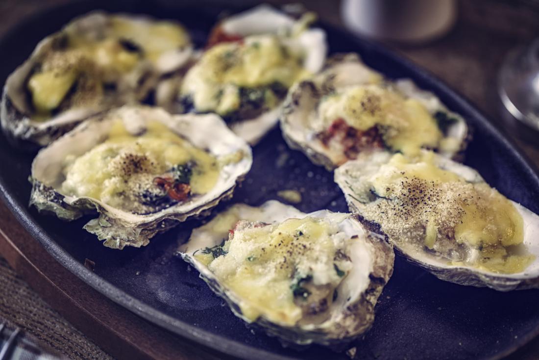 調理した牡蠣