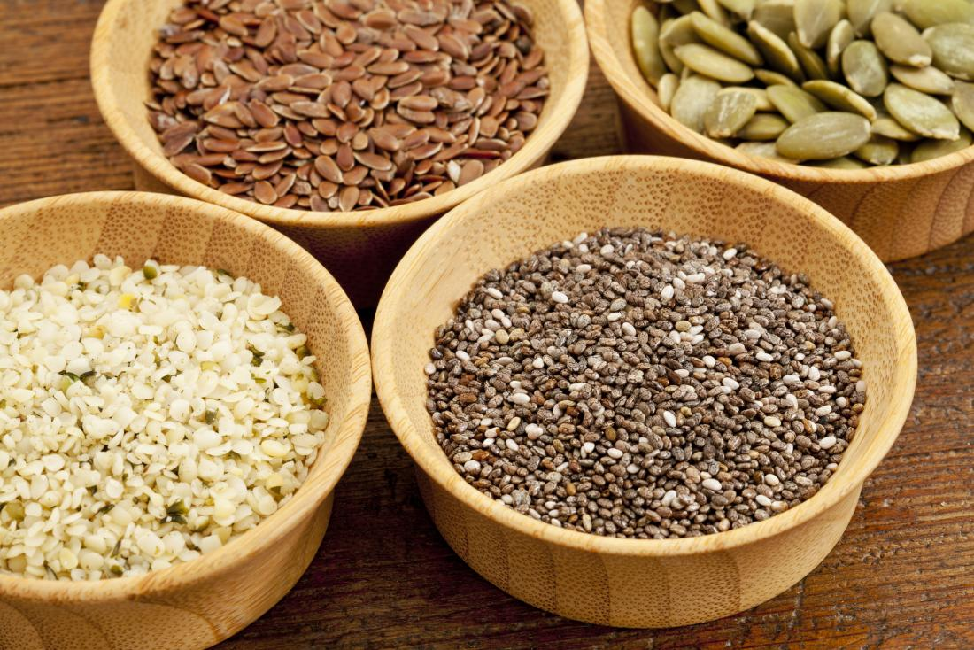 As sementes são uma boa proteína baseada em plantas