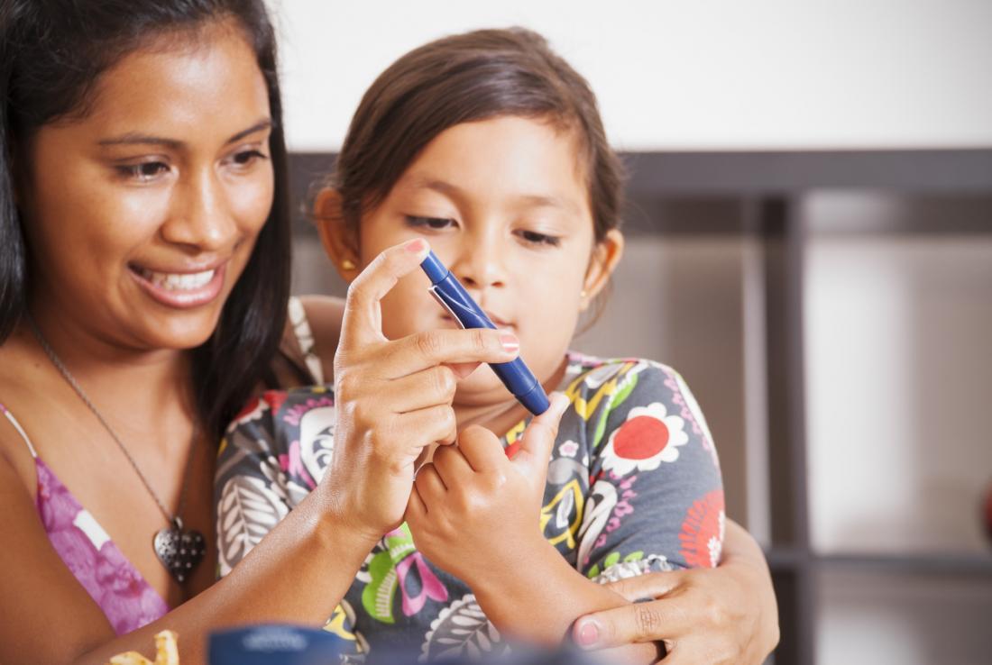 Diabete di madre e figlia