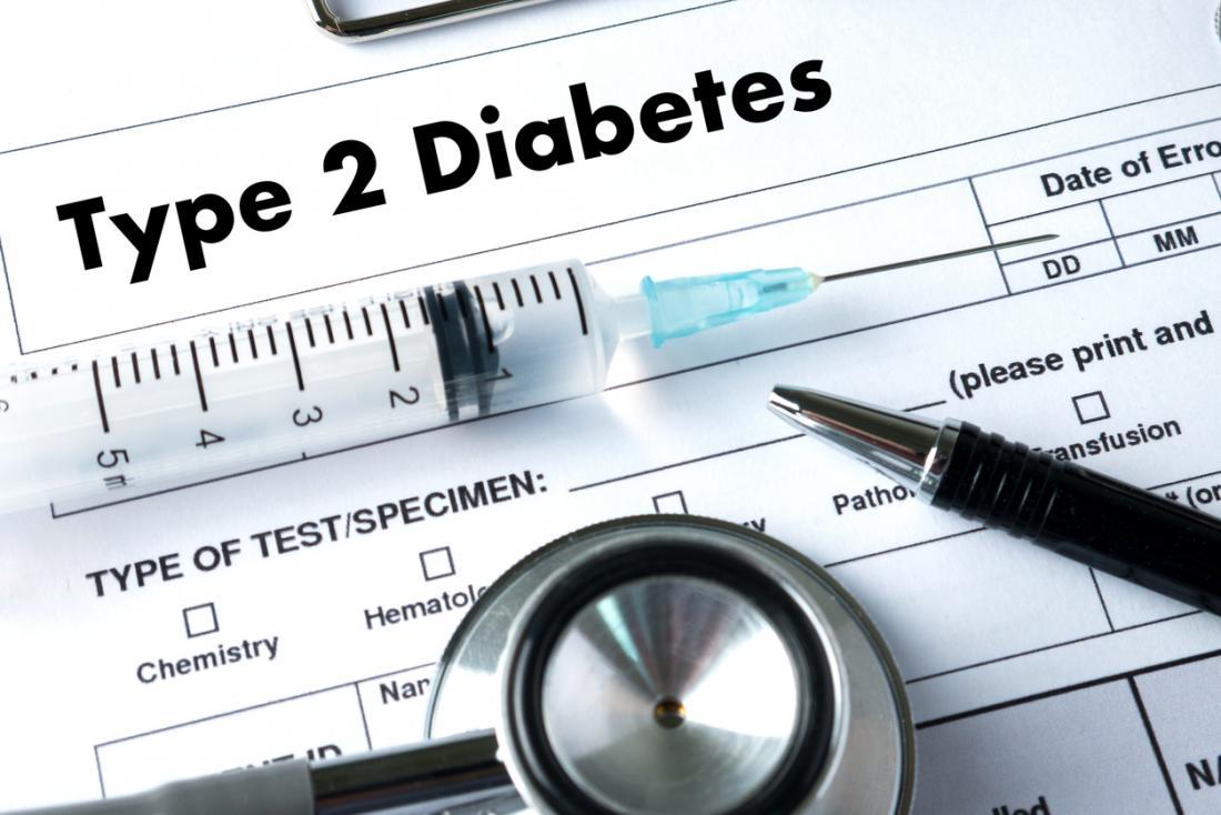 2型糖尿病。