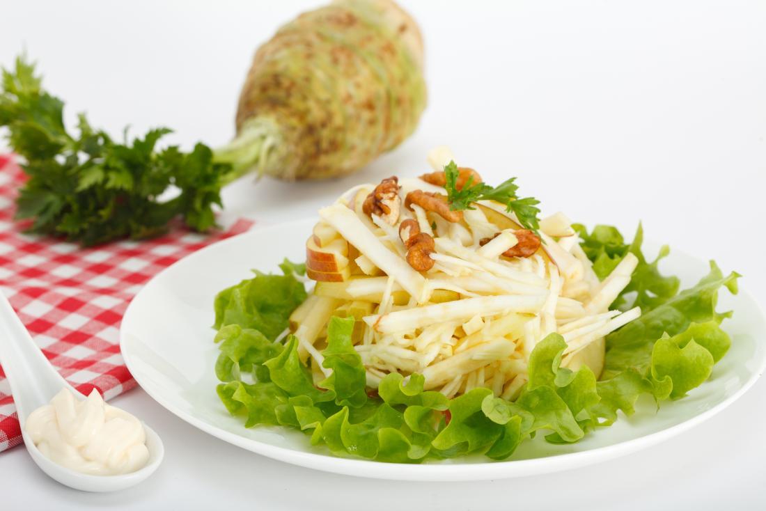 céleri-rave en salade
