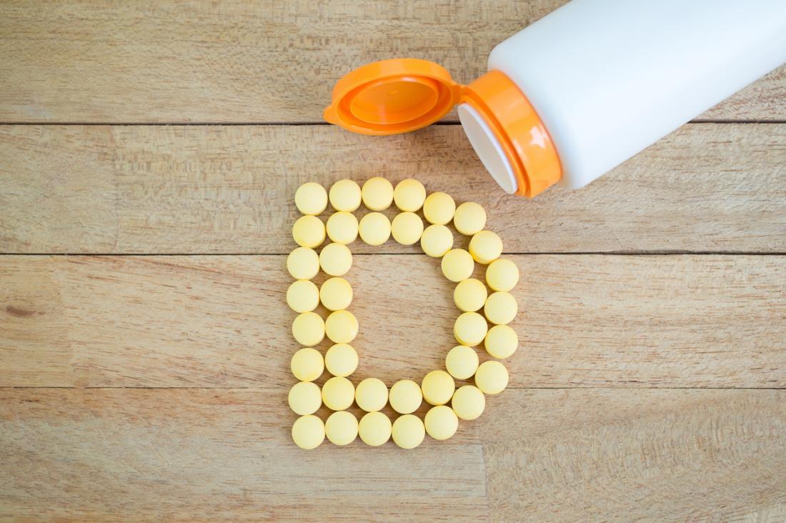 Comprimidos de vitamina D