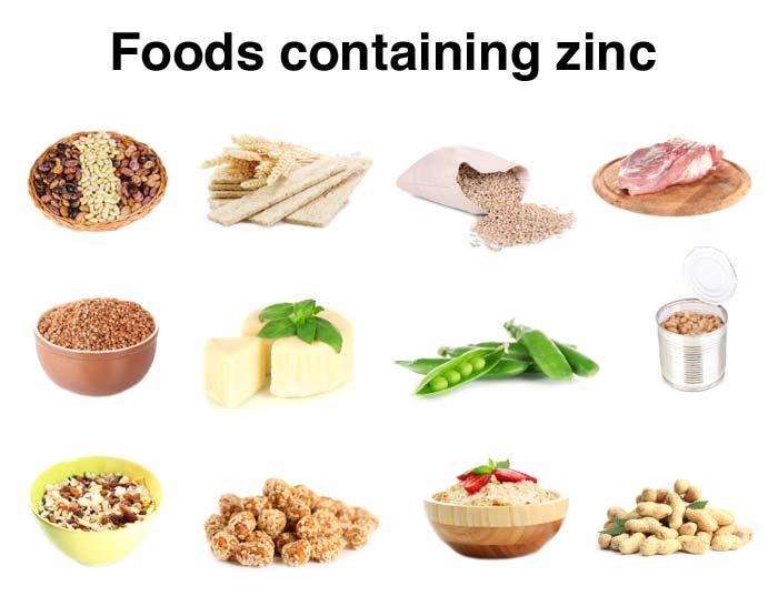 Изображения на храни, съдържащи цинк