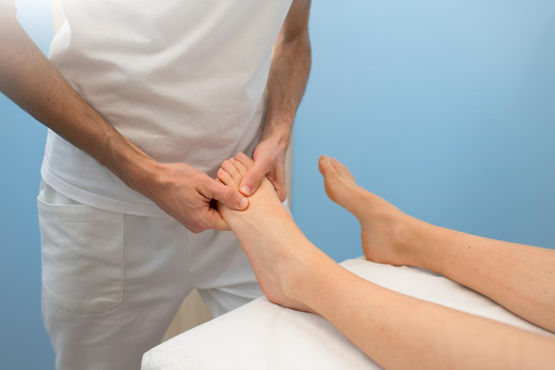 Physiotherapie für Plantarfibrom