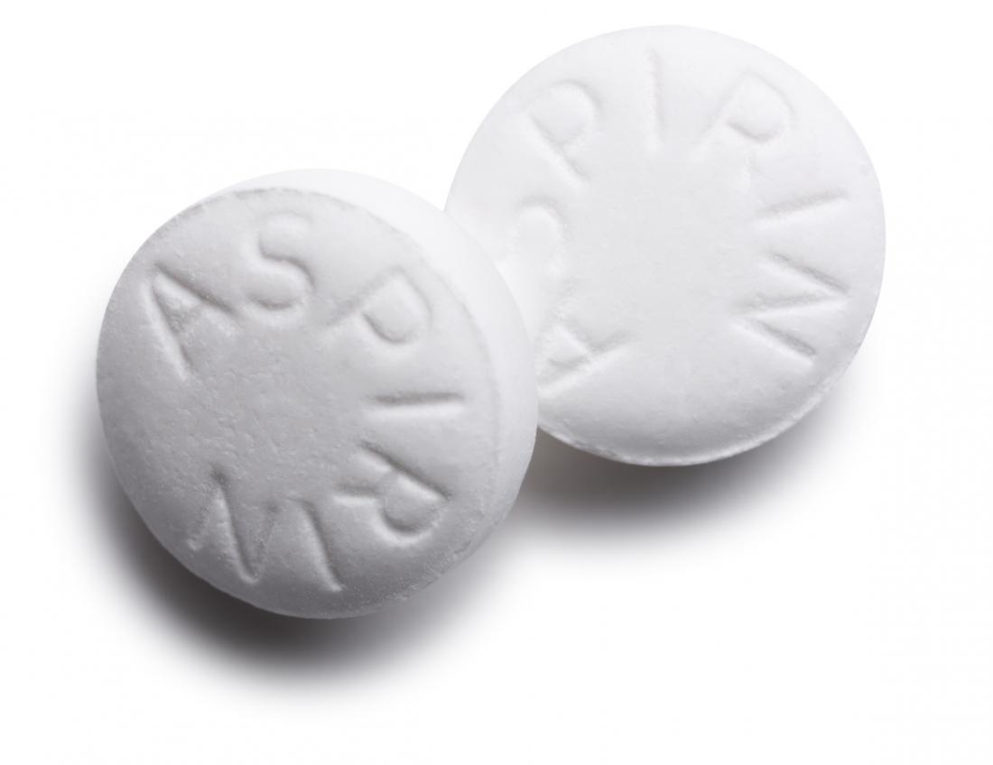 pilules d'aspirine