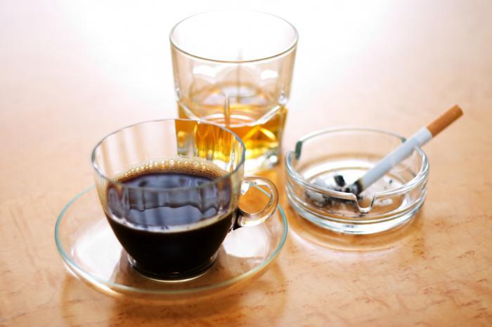 Cigarro de café de álcool
