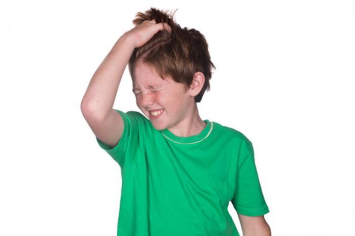 Haare mit Nissenkamm überprüfen