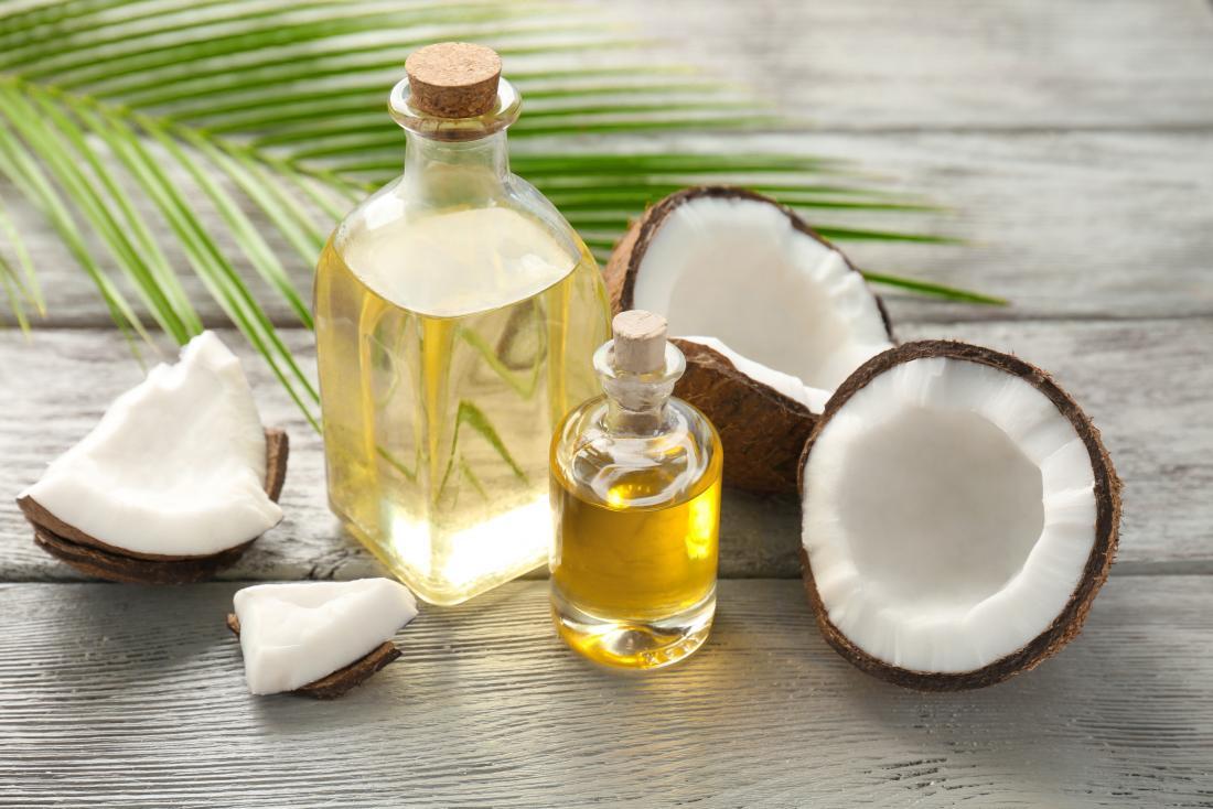 olej kokosowy do wysypki pod pachami