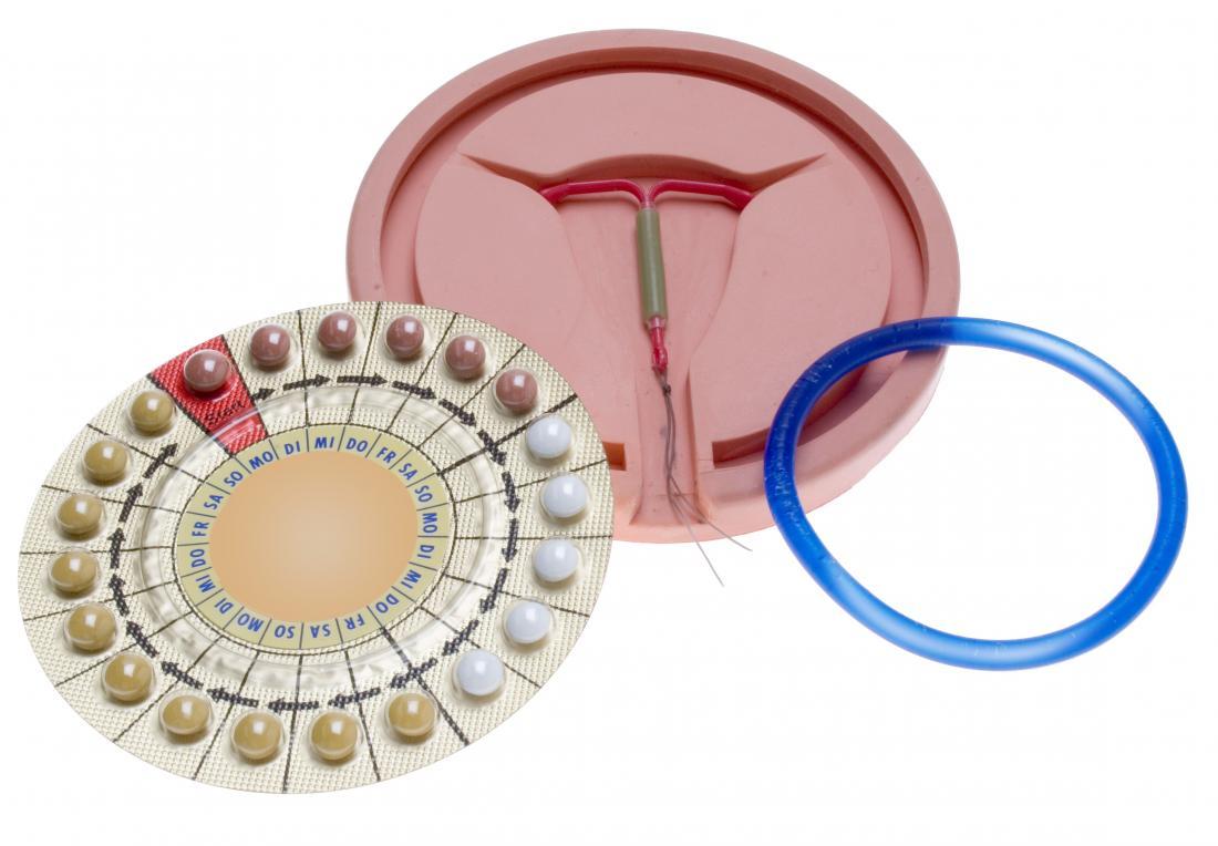 pillole contraccettive IUD e anello vaginale