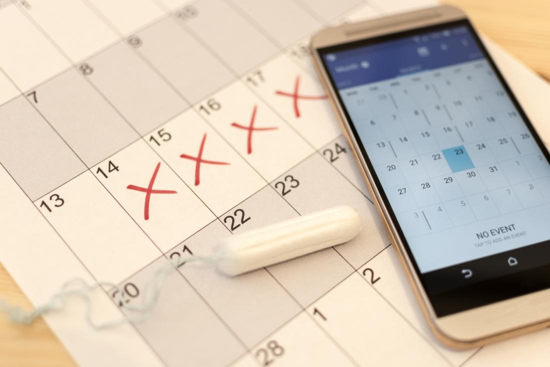 менструационен календар