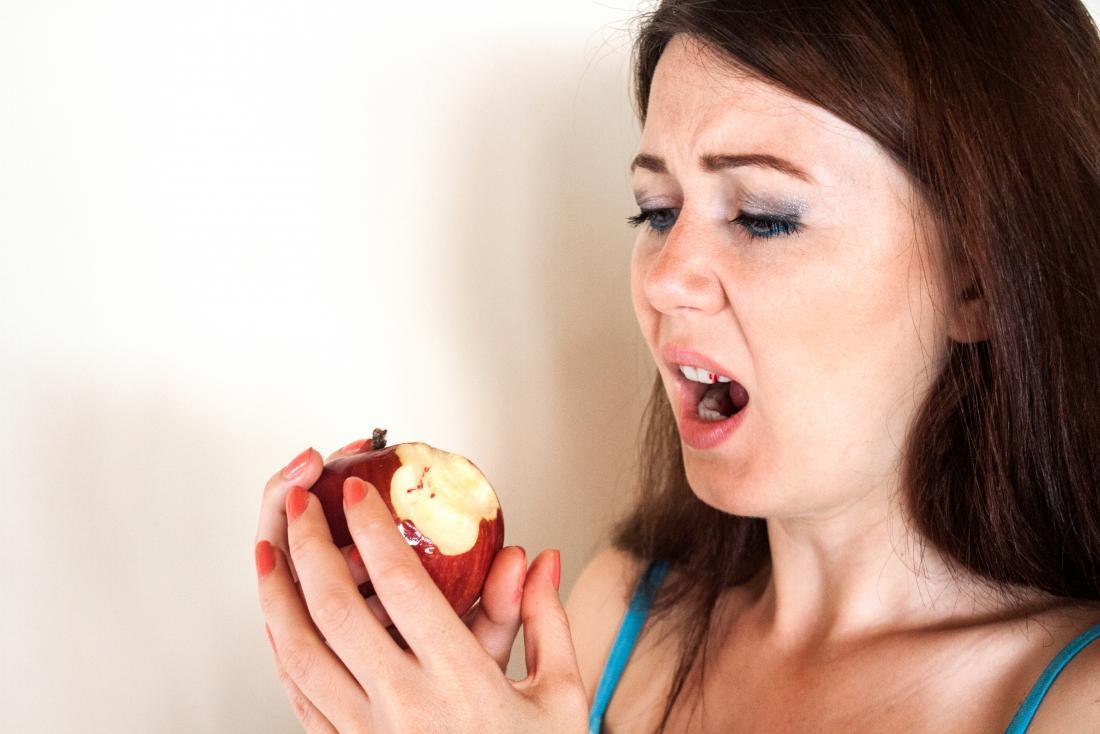 A menopausa pode levar a gengivas pálidas e sangrentas