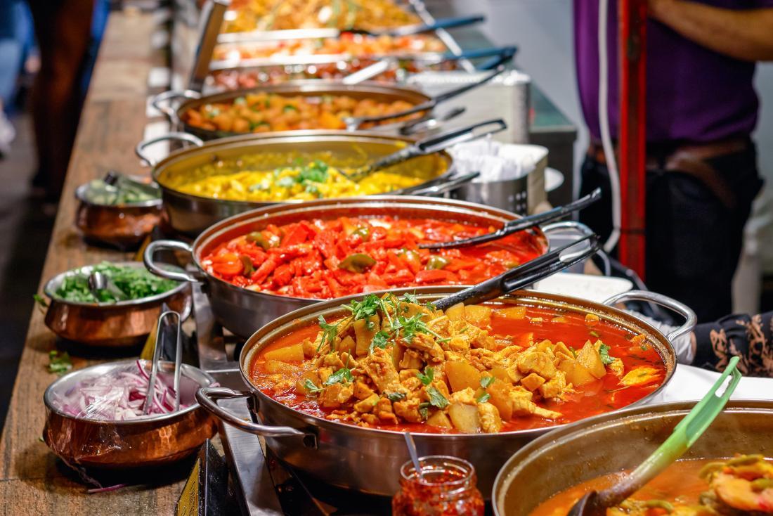 Würziges Curry kann am Morgen Durchfall verursachen