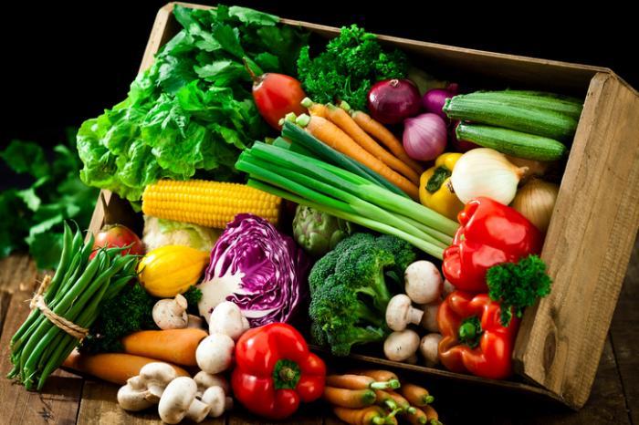 Des légumes