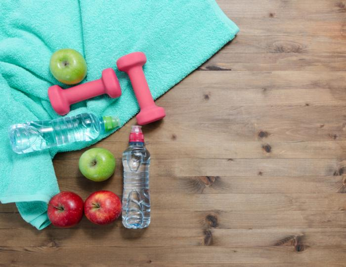 [Pommes, eau et poids]