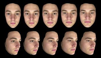 Scans 3D de visages