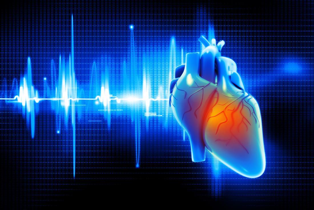 ilustração digital do coração