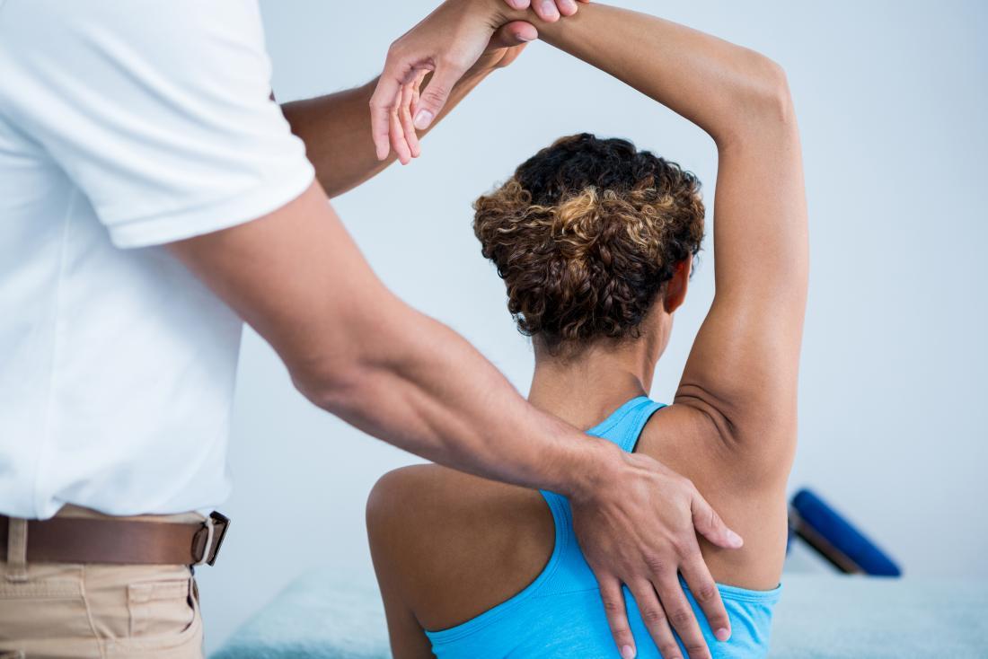 Физиотерапията третира калциевия тендонит