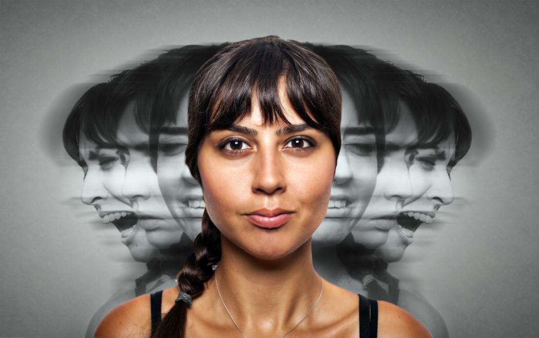 Transtorno dissociativo de identidade - muitas personalidades