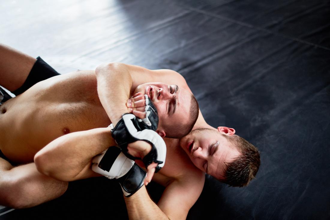 dois lutadores