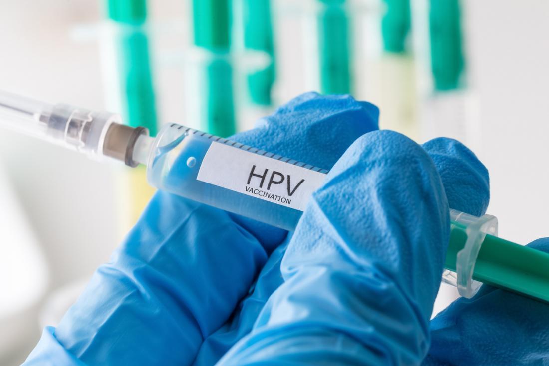 Vacinação contra o HPV hipodérmica